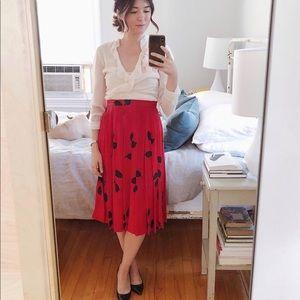 Vintage Silk Skirt XS / 0